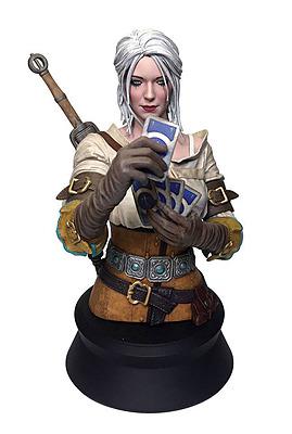Einfach und sicher online bestellen: The Witcher 3 Büste Ciri Playing Gwent in Österreich kaufen.