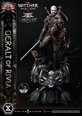 Einfach und sicher online bestellen: The Witcher 3 Statue 1/3 Geralt von Riva Deluxe in Österreich kaufen.