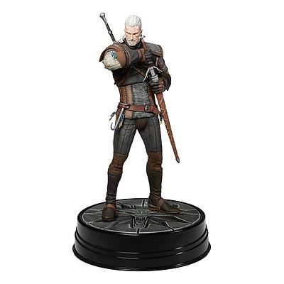 Einfach und sicher online bestellen: The Witcher 3 Statue Heart of Stone Geralt Deluxe in Österreich kaufen.