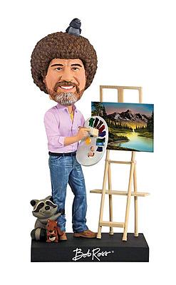 Einfach und sicher online bestellen: The Joy of Painting Wackelkopf Figur Bob Ross in Österreich kaufen.