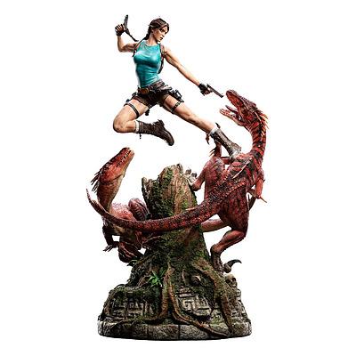 Einfach und sicher online bestellen: Tomb Raider Statue 1/4 Lara Croft Lost Valley in Österreich kaufen.