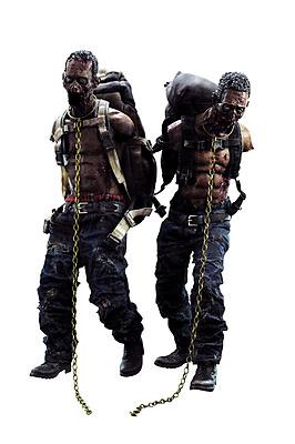 Einfach und sicher online bestellen: Walking Dead Actionfiguren Michonnes Pet Walkers in Österreich kaufen.