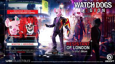 Einfach und sicher online bestellen: Watch Dogs Legion Figurine Resistant of London in Österreich kaufen.