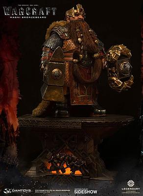 Einfach und sicher online bestellen: Warcraft Epic Series Statue Bronzebeard in Österreich kaufen.