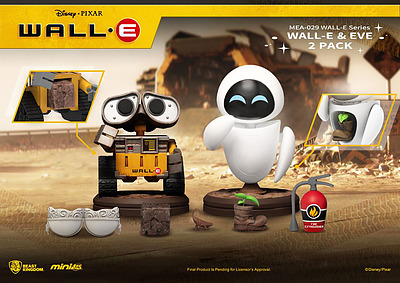 Einfach und sicher online bestellen: Wall-E Mini Egg Attack Figuren 2er-Pack in Österreich kaufen.