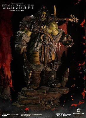 Einfach und sicher online bestellen: Warcraft Epic Series Statue Grom Hellscream in Österreich kaufen.