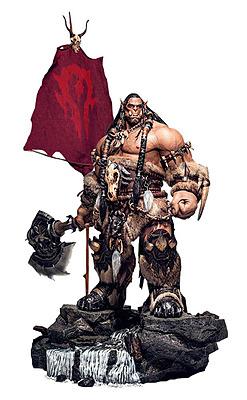 Einfach und sicher online bestellen: Warcraft Big Budget Statue Durotan in Österreich kaufen.