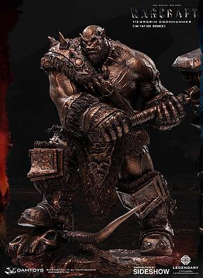 Einfach und sicher online bestellen: Warcraft: The Beginning Statue Orgrim Bronze in Österreich kaufen.