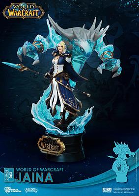 Einfach und sicher online bestellen: World of Warcraft D-Stage PVC Diorama Jaina in Österreich kaufen.