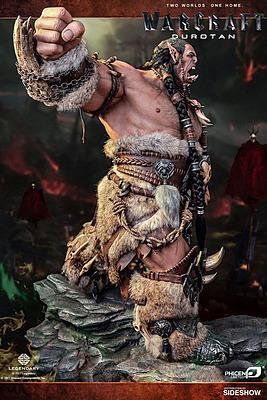 Einfach und sicher online bestellen: Warcraft Big Budget Statue Durotan Version 2 in Österreich kaufen.