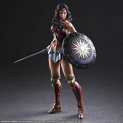 Einfach und sicher online bestellen: Wonder Woman Play Arts Kai Actionfigur in Österreich kaufen.