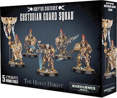 Einfach und sicher online bestellen: Horus Heresy: Adeptus Custodes Custodian Guard in Österreich kaufen.
