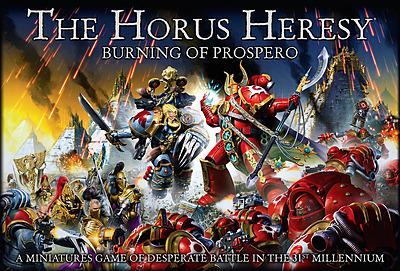 Einfach und sicher online bestellen: Horus Heresy - Burning of Prospero in Österreich kaufen.