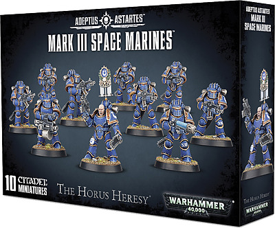 Einfach und sicher online bestellen: Horus Heresy: Mark III Space Marines in Österreich kaufen.