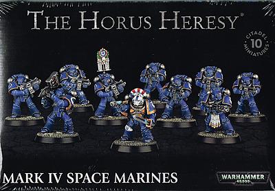Einfach und sicher online bestellen: Horus Heresy: Mark IV Space Marines in Österreich kaufen.