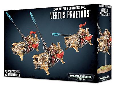 Einfach und sicher online bestellen: Warhammer 40.000: Adeptus Custodes Vertus Praetors in Österreich kaufen.
