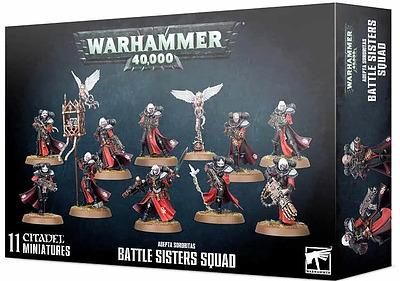 Einfach und sicher online bestellen: Adepta Sororitas Battle of Sisters Squad in Österreich kaufen.