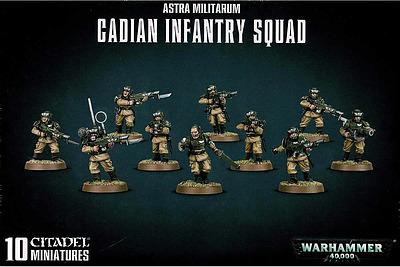 Einfach und sicher online bestellen: Astra Militarum Cadian Infantry Squad in Österreich kaufen.