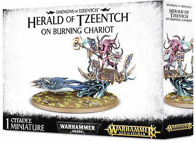 Einfach und sicher online bestellen: Herald of Tzeentch on Burning Chariot in Österreich kaufen.