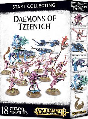 Einfach und sicher online bestellen: Daemons of Tzeentch Start Collecting in Österreich kaufen.
