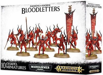 Einfach und sicher online bestellen: Daemons of Khorne Bloodletters in Österreich kaufen.
