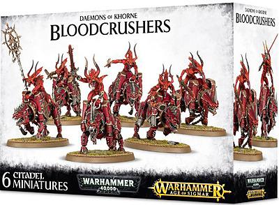 Einfach und sicher online bestellen: Daemons of Khorne Bloodcrushers in Österreich kaufen.