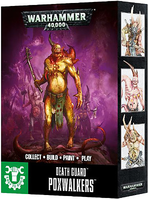 Einfach und sicher online bestellen: Warhammer 40.000: Death Guard Ploxwalkers in Österreich kaufen.