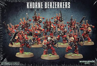 Einfach und sicher online bestellen: Warhammer 40.000: Khorne Berserker in Österreich kaufen.