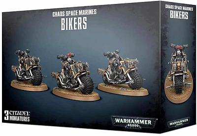 Einfach und sicher online bestellen: Warhammer 40.000: Chaosbiker in Österreich kaufen.