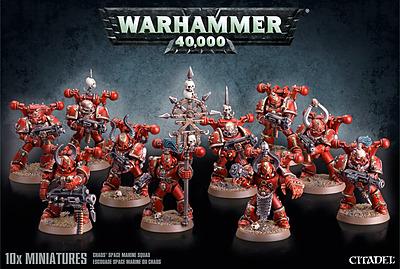 Einfach und sicher online bestellen: Warhammer 40.000: Chaos Space Marines Trupp in Österreich kaufen.