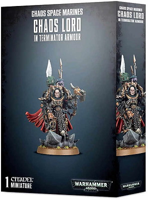 Einfach und sicher online bestellen: Warhammer 40.000: Chaosgeneral in Termirüstung in Österreich kaufen.