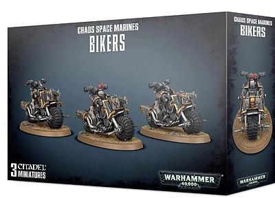 Einfach und sicher online bestellen: Warhammer 40.000: Chaos Space Marines Bikers in Österreich kaufen.