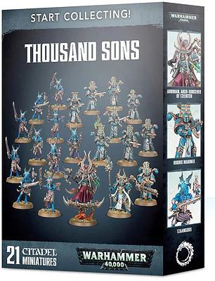 Einfach und sicher online bestellen: Start Collecting! Thousand Sons in Österreich kaufen.