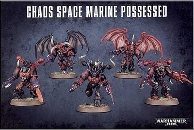 Einfach und sicher online bestellen: Warhammer 40.000: Chaos Space Marines Besessene in Österreich kaufen.
