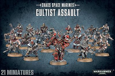 Einfach und sicher online bestellen: Warhammer 40.000: Cultist Assault in Österreich kaufen.