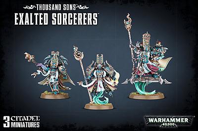 Einfach und sicher online bestellen: Warhammer 40.000: Thousand Sons Exalted Sorcerers in Österreich kaufen.