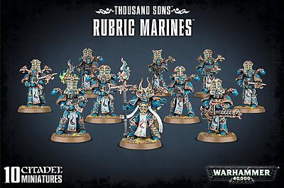 Einfach und sicher online bestellen: Warhammer 40.000: Thousand Sons Rubric Marines in Österreich kaufen.