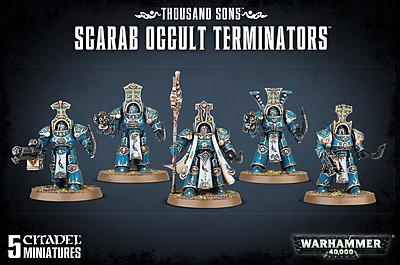 Einfach und sicher online bestellen: Warhammer 40.000: Scarab Occult Terminators in Österreich kaufen.