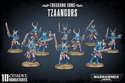 Einfach und sicher online bestellen: Warhammer 40.000: Thousand Sons Tzaangors in Österreich kaufen.