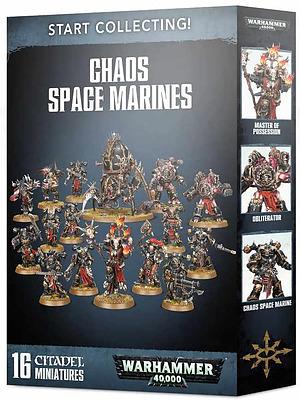 Einfach und sicher online bestellen: Start Collecting! Chaos Space Marines in Österreich kaufen.