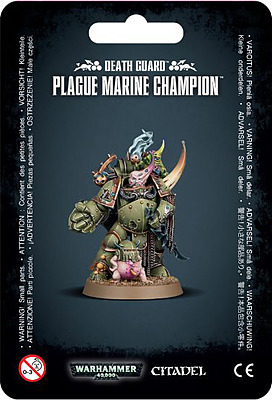 Einfach und sicher online bestellen: Warhammer 40.000: Plague Marine Champion in Österreich kaufen.