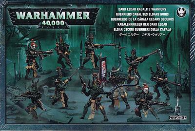 Einfach und sicher online bestellen: Warhammer 40.000: Kabalenkrieger der Dark Eldar in Österreich kaufen.