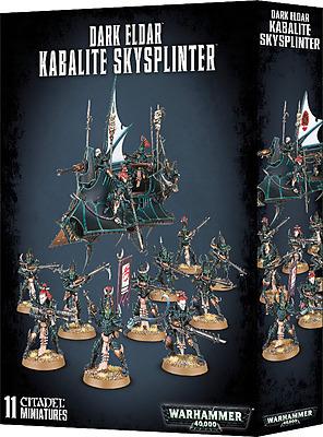 Einfach und sicher online bestellen: Warhammer 40.000: Dark Eldar Kabalite Skysplinters in Österreich kaufen.