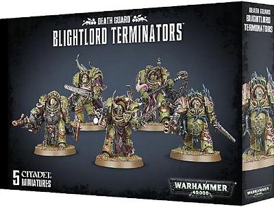 Einfach und sicher online bestellen: Warhammer 40.000: Blightlord Terminators in Österreich kaufen.