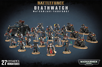 Einfach und sicher online bestellen: Warhammer 40.000: Deathwatch Watchblade Taskforce in Österreich kaufen.