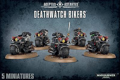Einfach und sicher online bestellen: Warhammer 40.000: Deathwatch Bikers in Österreich kaufen.
