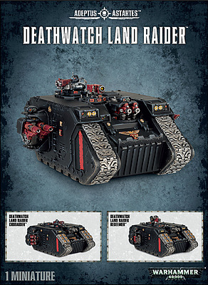Einfach und sicher online bestellen: Warhammer 40.000: Deathwatch Land Raider in Österreich kaufen.