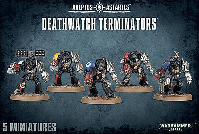 Einfach und sicher online bestellen: Warhammer 40.000: Deathwatch Terminators in Österreich kaufen.