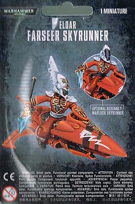 Einfach und sicher online bestellen: Warhammer 40.000: Eldar Farseer Skyrunner in Österreich kaufen.