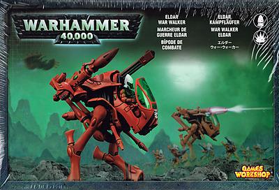 Einfach und sicher online bestellen: Warhammer 40.000: Eldar Kampfläufer in Österreich kaufen.